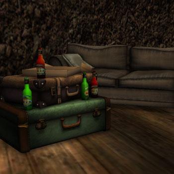 Suitcase Prop