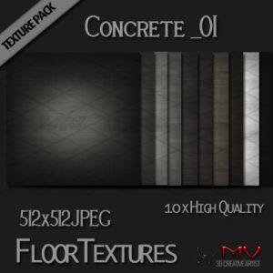 Texture Pack  Concrete_01