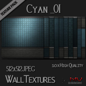 Texture Pack _Cyan_01