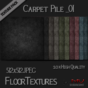 Texture Pack  Carpet Pile_01